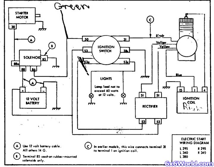 ch20qs power king tractor wiring diagram