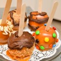 Caramel Apples With Candy & Chocolate….Mistakes And All