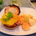 "Leftover Ham?….Make A Tropical ""Ham-Burger"""