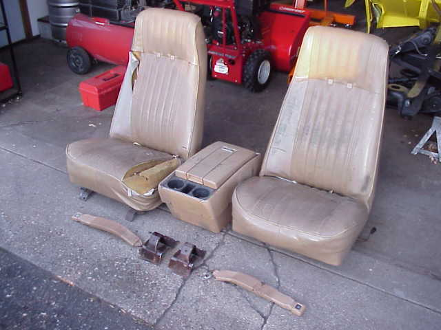 73 87 Gm Pickup Truck Factory Bucket Seat Information