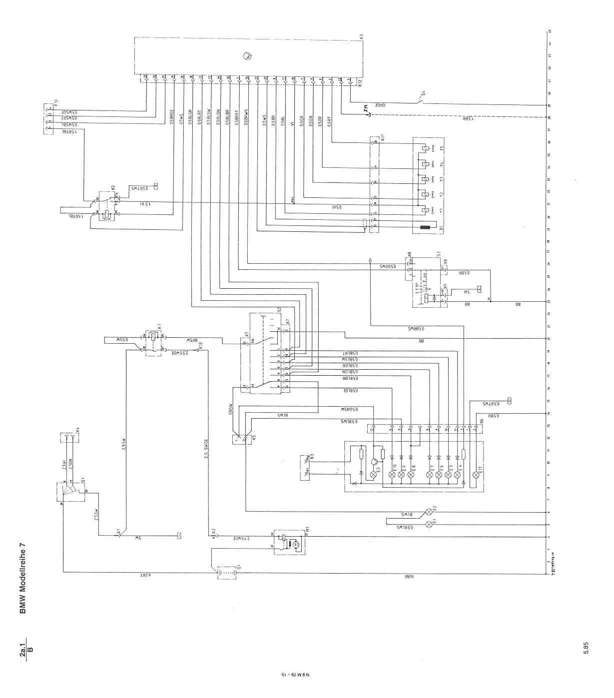 motronic engine schematic diagram