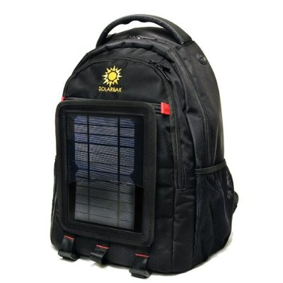 SOLARBAK v3 solar powered backpack, charge mobile devices