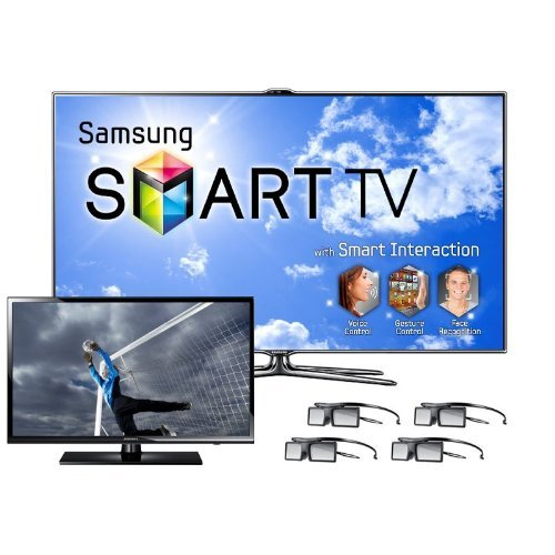 "Samsung UN46ES7500 46"" 240Hz 1080p LED 3D HDTV Bundle"
