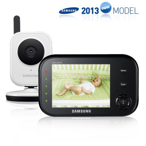 Samsung SEW-3036WN Wireless Video Baby Monitor with Infrared Night Vision