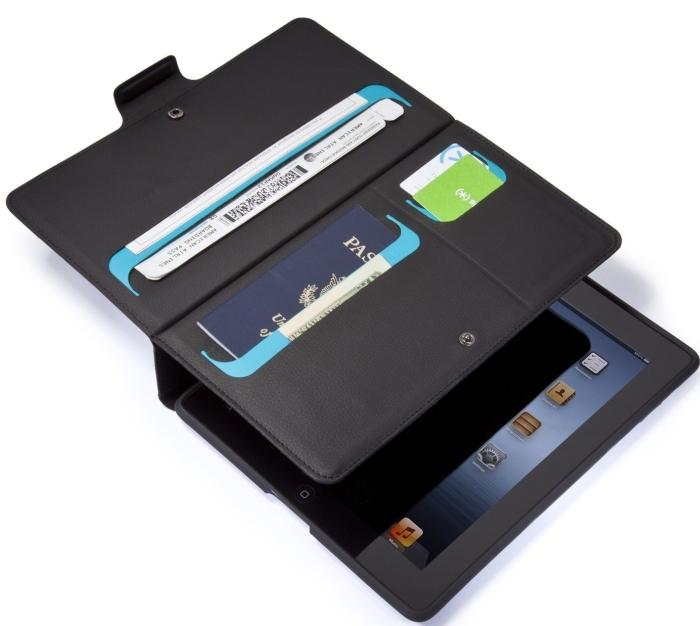 WanderFolio Case for New iPad 3 and iPad 4