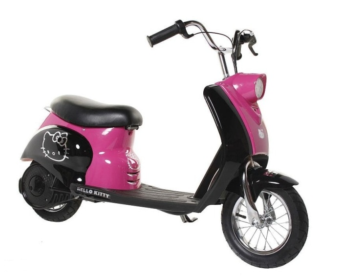 Dynacraft City Cruiser Electric Scooter - Hello Kitty