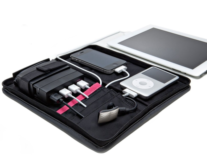 Portable Charging Station with Sync Cable
