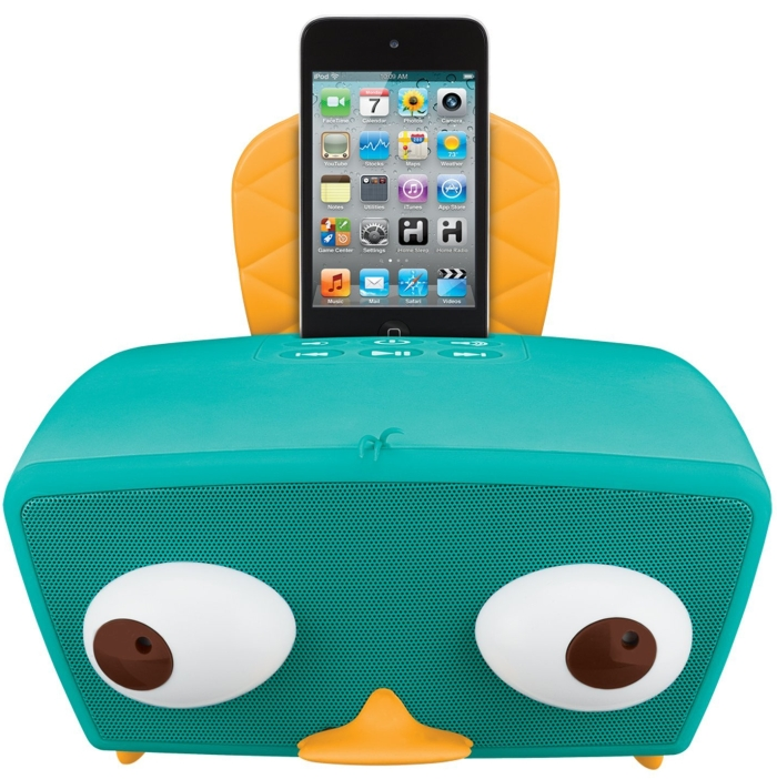 Amazon.com  Phineas and Ferb iPod Boombox, green - MAIN