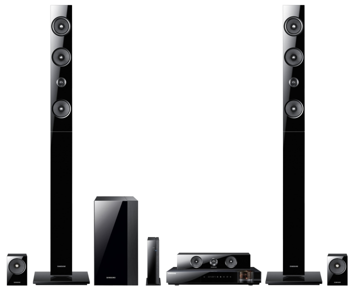 7.1 Channel 1330-Watt 3D Blu-Ray Home Theater System