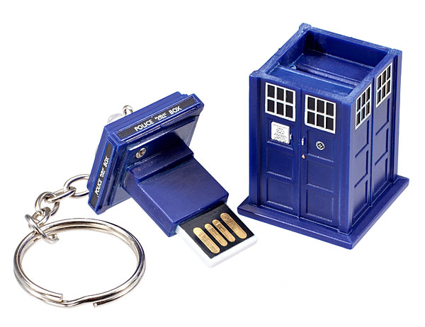 Doctor Who 4GB TARDIS Flash Drive