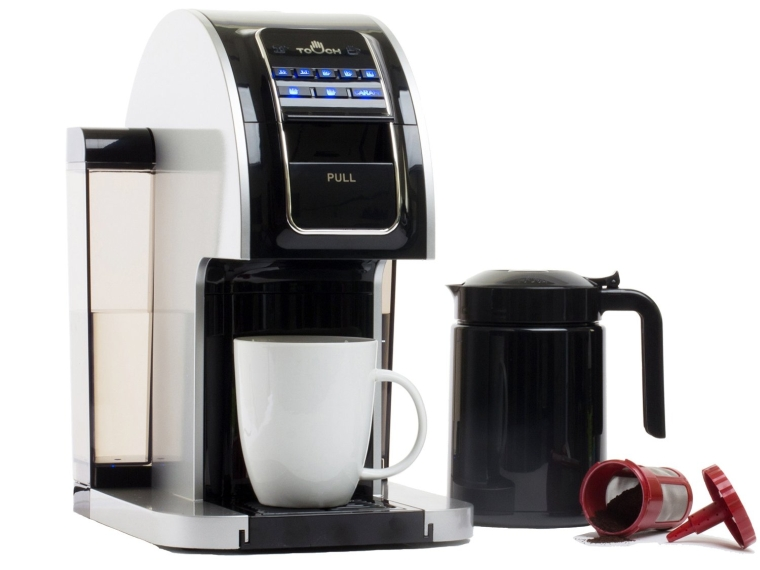 Touch Brewer Brewing System For Single Cup Coffee