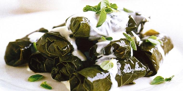 Turkish Cuisine - Stuffed Vine Leaves