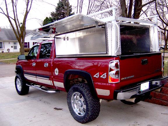 Pickup Truck Semi Tool Boxes Cab Guards Pickup Headache