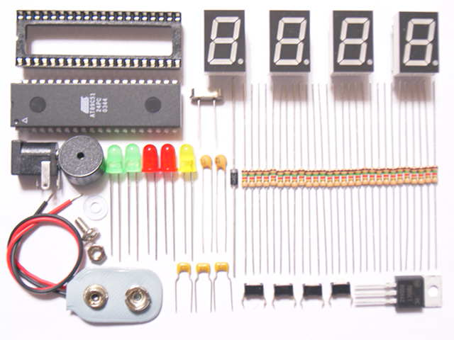 Microcontroller Based Digital Clock with Alarm Free