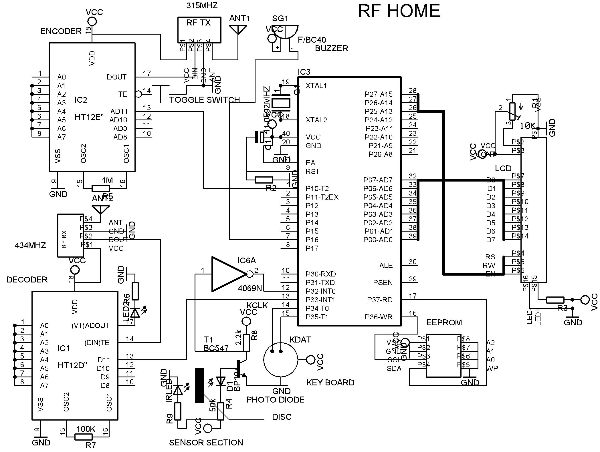 t v circuit diagram free download