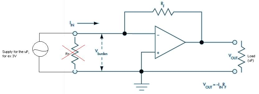 the output current of the circuit according to this formula