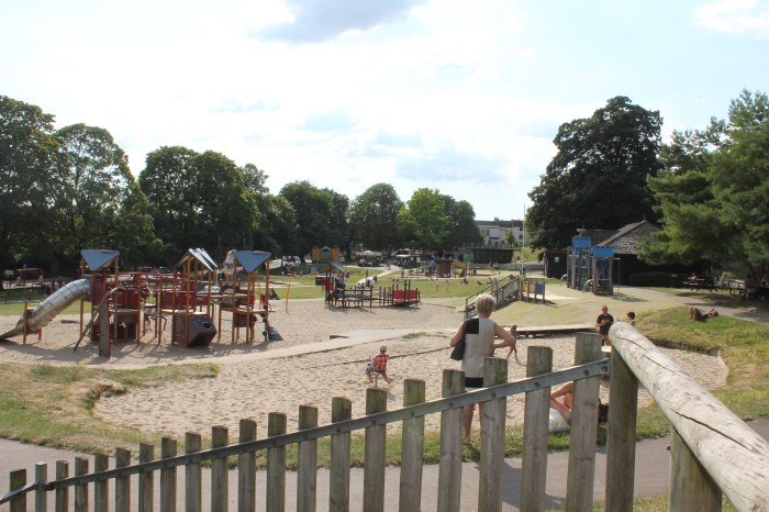 A very large playground
