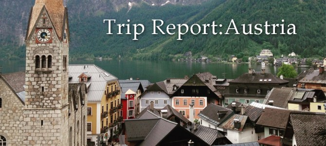 Field Agent Trip Report: Austria (Eastern Alps)