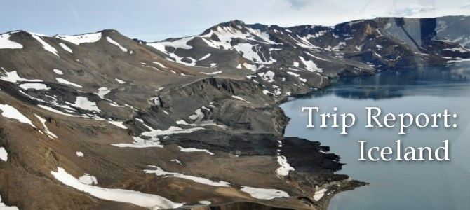 Field Agent Trip Report: Iceland 2016