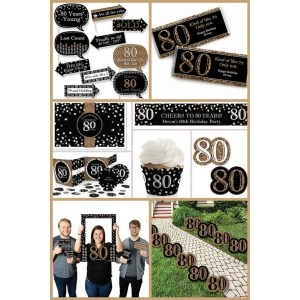 Mutable A Memorable 80th Birthday Ideas Ma Australia G Partysupplies Work Well