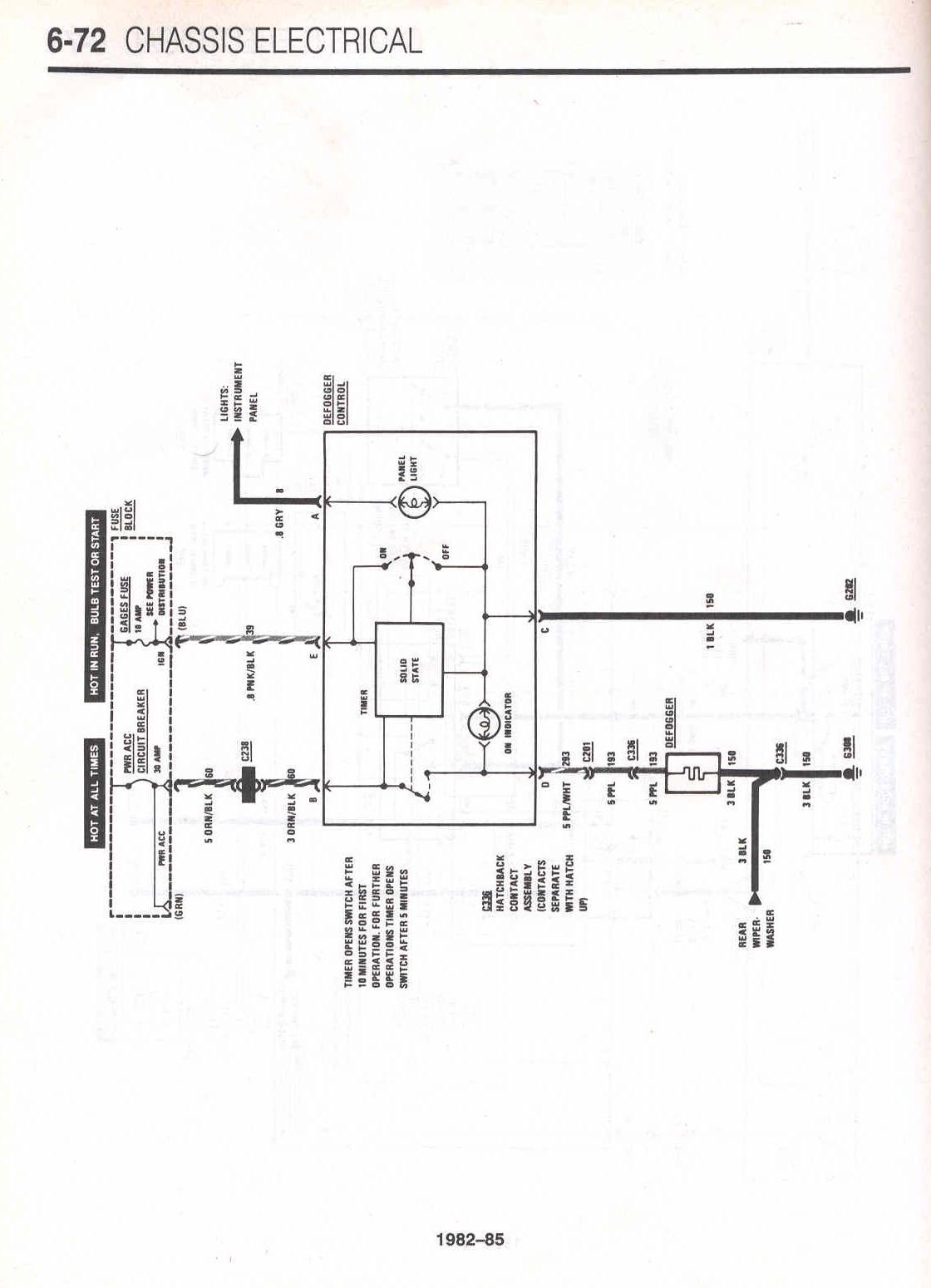 gm ignition switch wiring diagram highbeam