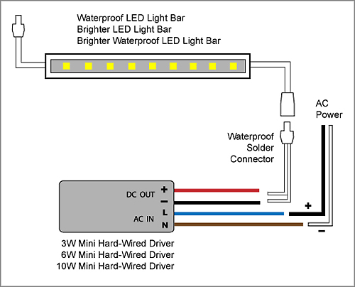 Wire Diagram Led Lights Electronic Schematics collections