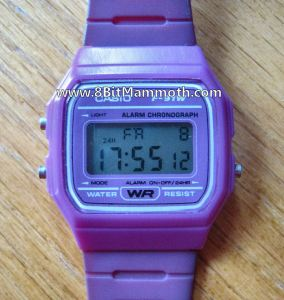 How to Set the Time on a Casio F-91w Watch and Review