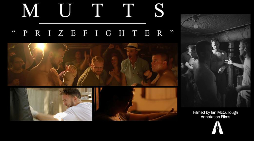 Mutts music video for Prizefighter