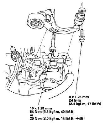 Belt tensioner replacement DIY? - 8th Generation Honda Civic Forum