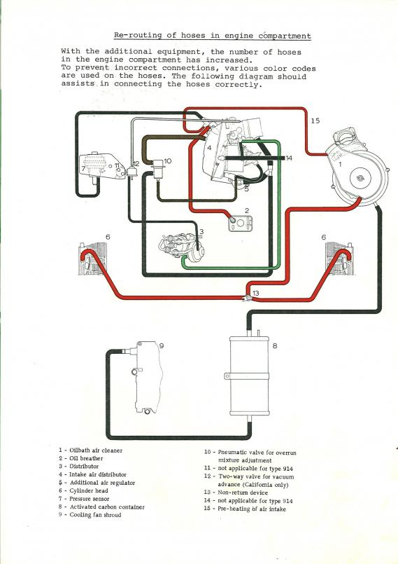 914World Vacuum hose diagram for #39;72 17