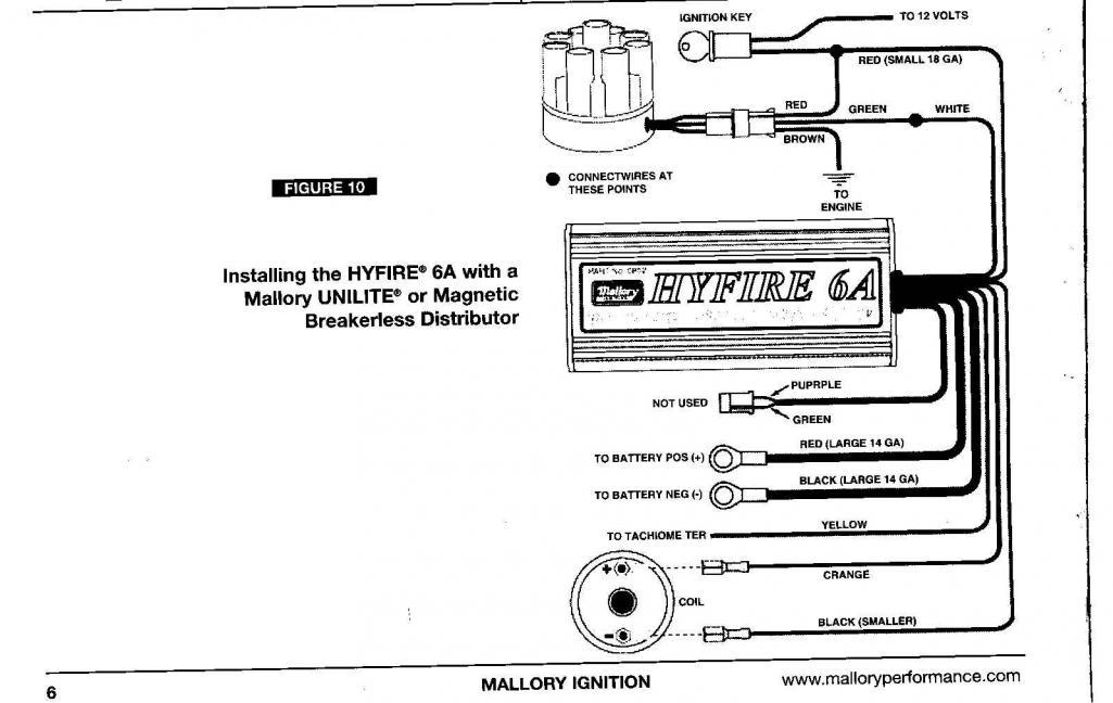 Mallory Dist Wiring Diagram Wiring Diagram 2019