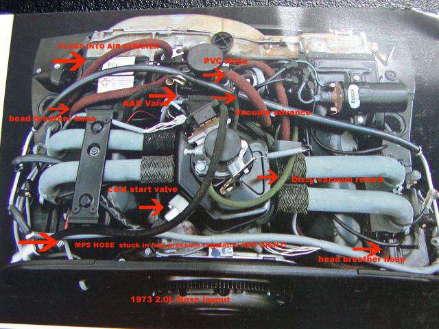914World 914-4 vacuum hose locations