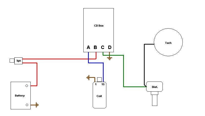 914World 914-6 tach wiring question