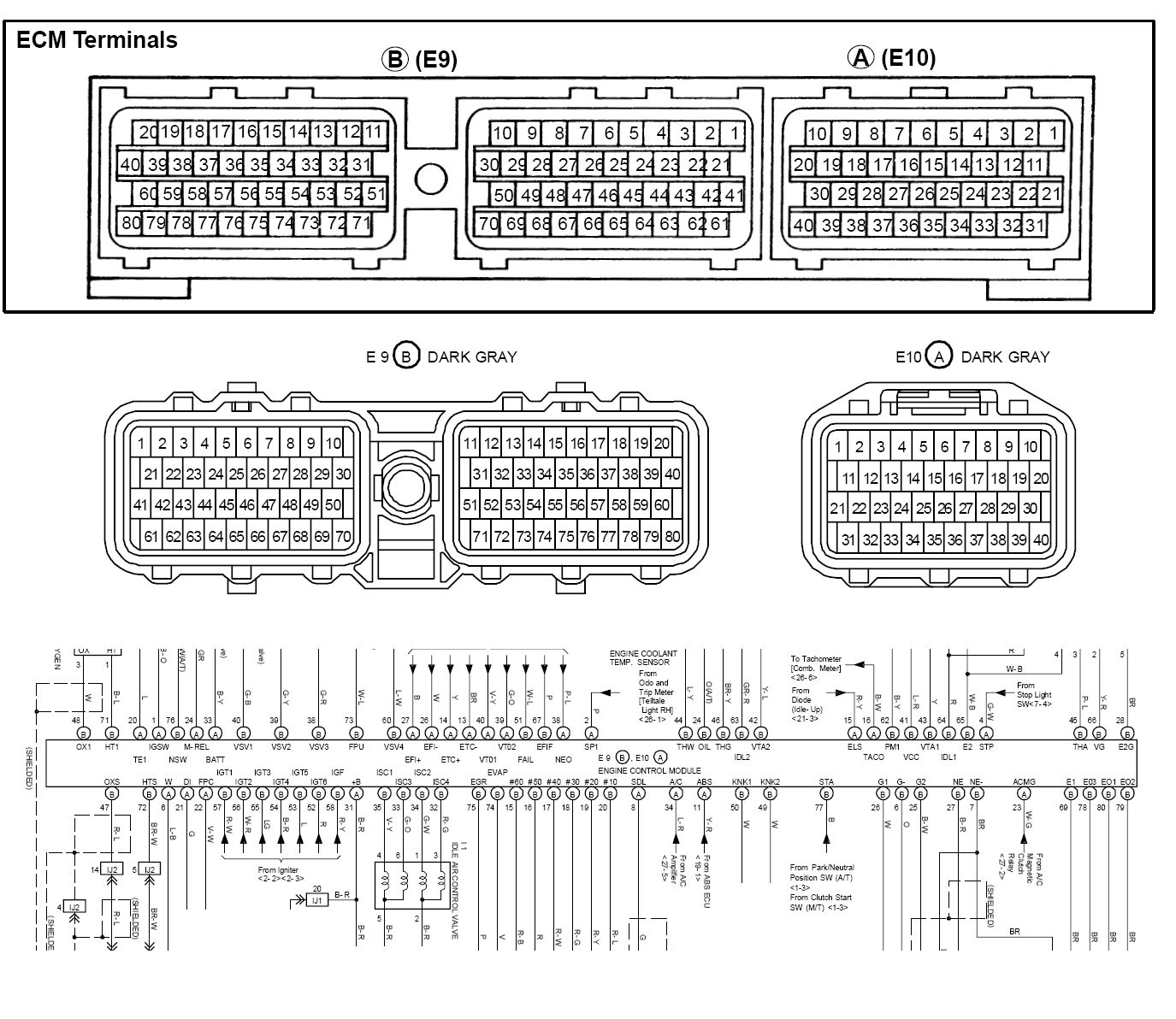 jzx100 ecu wiring diagram