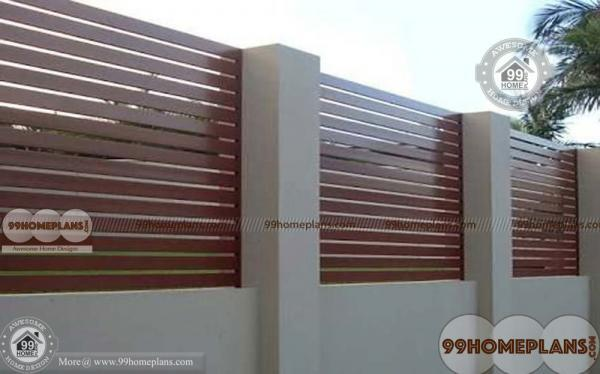 Boundary Wall Design With Latest Styles Of Home Compound