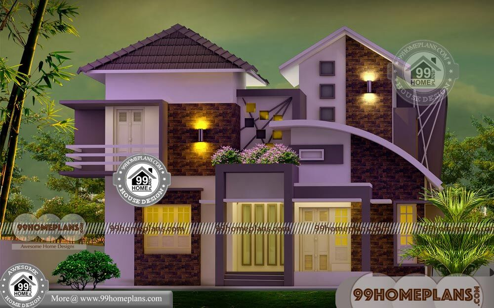 Kerala Traditional Home Design Double Story Modern Exterior