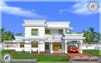 Two Story Kerala House Plans And Elevations