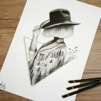 I Personify Imagination In My Pencil Drawings | 99inspiration