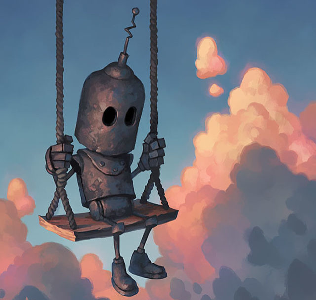 Animated Lonely Boy Wallpapers Lonely Robots Experiencing The Quiet Wonder Of The World