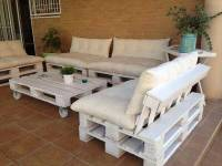 DIY Outdoor Patio Furniture from Pallets