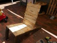 DIY Pallet Outdoor Lounger and Patio Chair | 99 Pallets