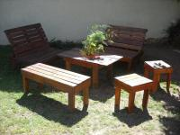 Outdoor Inspired Pallet Patio Furniture | 99 Pallets