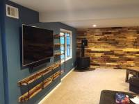 In Wall Entertainment Center Ideas - Repurposed Pallet ...