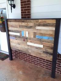 Pallet Queen Size Headboard | 99 Pallets
