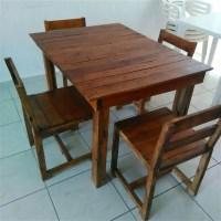 Wood Pallet Dining Table | www.pixshark.com - Images ...