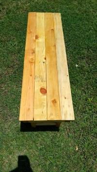 DIY Wood Pallet Garden Bench | 99 Pallets