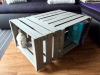 Pallet Wood Made Crate Coffee Table