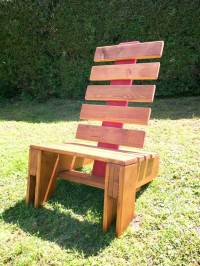 Pallet Lounge Chair - DIY Wood Projects | 99 Pallets
