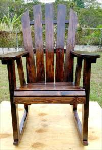 Pallet Rocking Chair | 99 Pallets