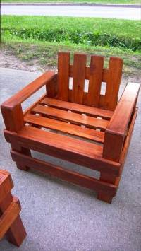 Gorgeous Pallet Outdoor Furniture Set | 99 Pallets